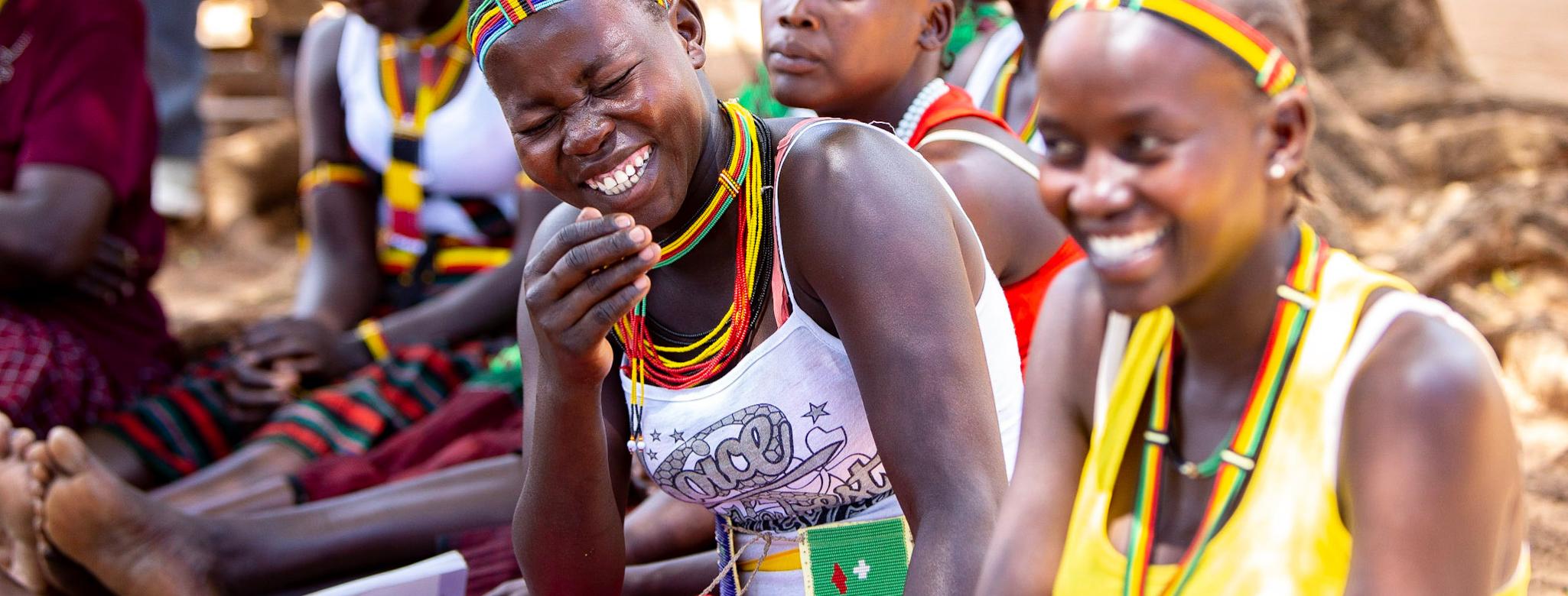 women in uganda learning business skills